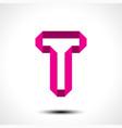 letter t logo icon design template element vector image
