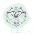 bear cute vector image