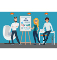 Business professional work team Businesspeople vector image vector image