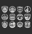 egyptian religion culture travel icons vector image