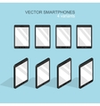 modern flat smartphone icons set vector image