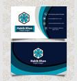 Professional business card template design