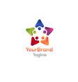 social world logo template vector image vector image