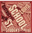 St Louis Schools Sensitive To Needs Of Alternative vector image vector image