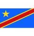 Zaire Congo vector image vector image