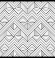 abstract seamless linear geometric striped pattern vector image vector image