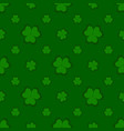 background clover on a white vector image vector image