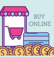 buy online concept vector image