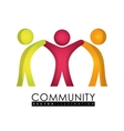 Community people graphic vector image vector image
