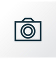 photo outline symbol premium quality isolated vector image vector image