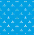 pirate drink pattern seamless blue vector image vector image