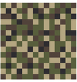 Square camouflage pattern background vector image