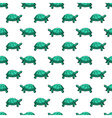 Turtles pattern vector image vector image
