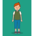 young man avatar icon vector image