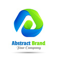 Abstract logo design template Business icon vector image