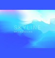 background with abstract sky in pastel color vector image vector image