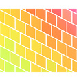 Background with colorful rhombs vector image vector image