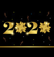 happy new year 2020 greeting card or banner vector image vector image