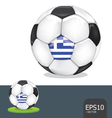 soccer euro greece vector image