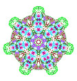 traditional ornamental floral paisley design vector image