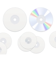 DVD or CD disc vector image