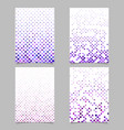 Abstract geometric dot pattern background page