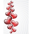 Background to the Valentines day vector image vector image
