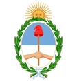 coat of arms of Argentina vector image vector image