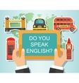 Do You Speak English vector image vector image