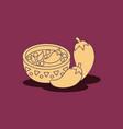 mexican food design vector image vector image