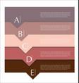 modern design template 2 vector image vector image