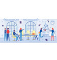 people on new year or christmas party celebration vector image vector image
