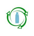 Recycle plastic icon