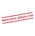 Sexual Health Watermark Stamp vector image vector image