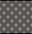 simple black white gray pattern background with vector image vector image
