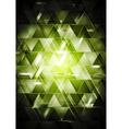 Abstract glossy hi-tech backdrop vector image