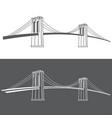 brooklyn grey vector image vector image