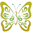 butterfly pictogram vector image