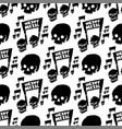 heavy rock music badge vintage label vector image vector image