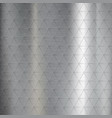 textured brushed metal from pattern vector image vector image