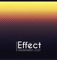 transparent gradient light effect colorful vector image vector image