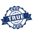true stamp sign seal vector image vector image