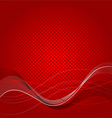 Abstract red texture background vector image
