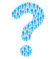 answer shape of man user icons vector image vector image