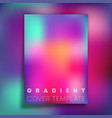 colorful gradient texture background design for vector image vector image