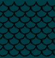 fish scale seamless pattern vector image vector image