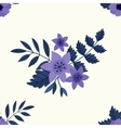 Flower frame background vector image vector image