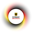 German background vector image