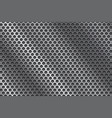 metal perforated background vector image