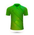 sport shirt design vector image